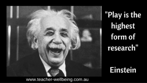 Play is the highest form of research-