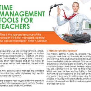 Time Management Tools for Teachers